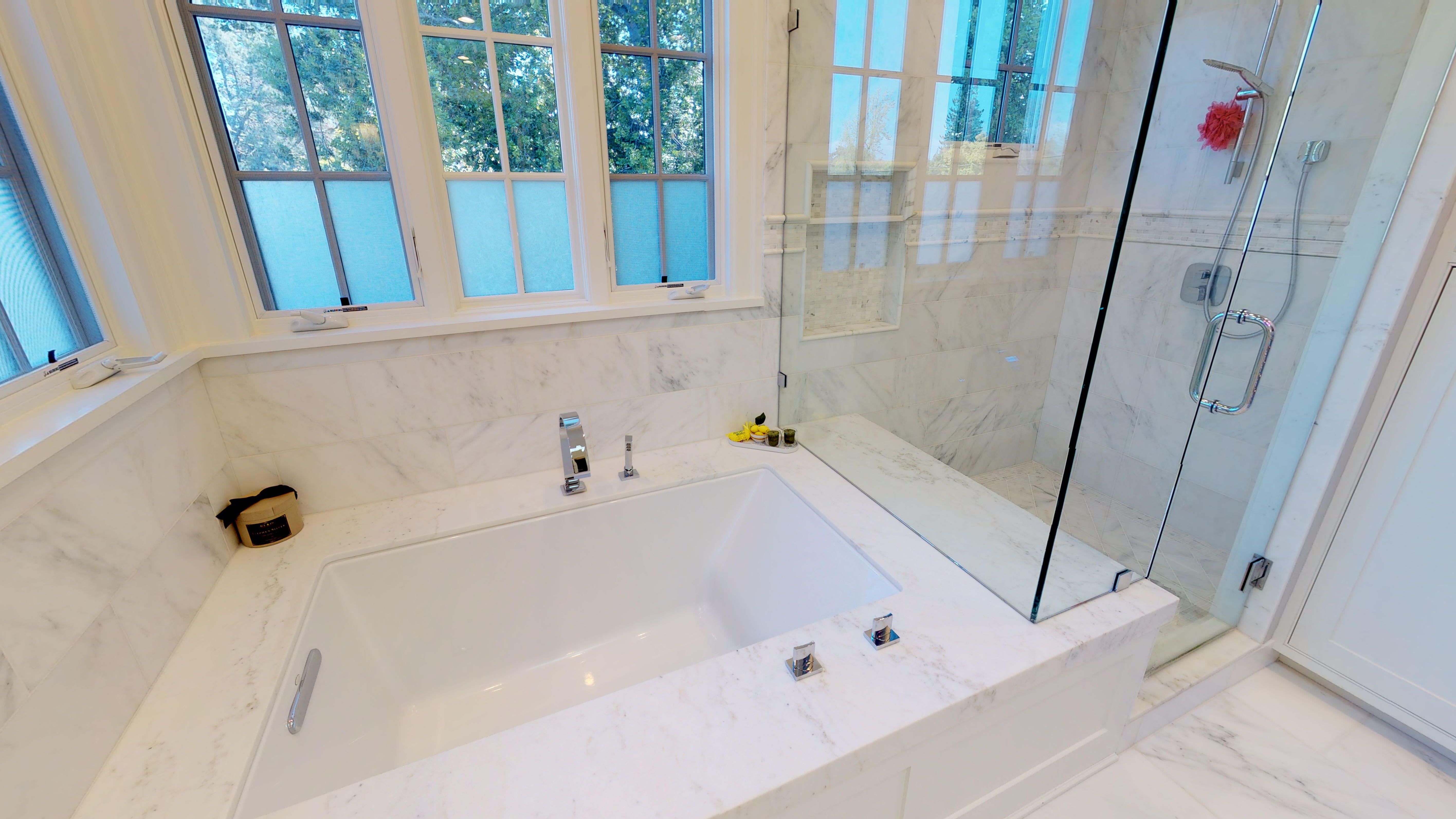 17 - Master Bathroom, Bath & Shower - Copy
